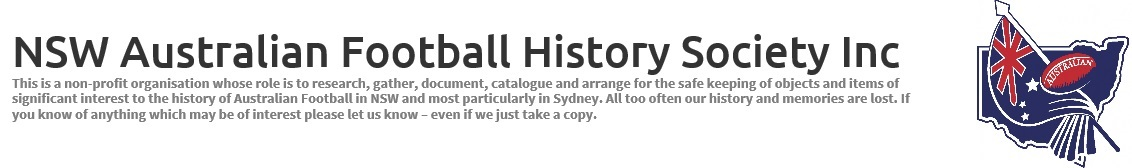 NSW Australian Football History Society